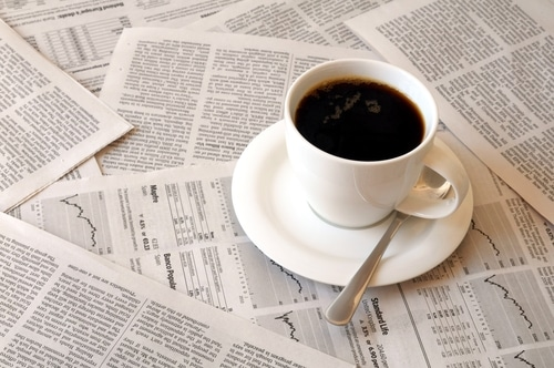 קפה ועיתון