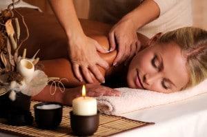 Massage of shuolder  יחסי ציבור למתחמי ספא