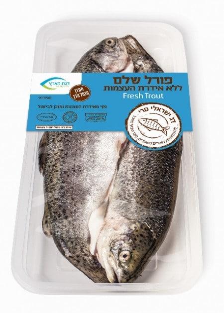 דג ישראלי טרי