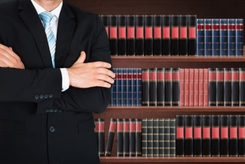 ספרייה של עורך דין