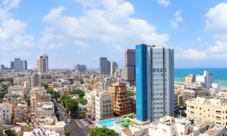 הנוף ממשרד רונן הלל מרחוב אבן גבירול 2 תל אביב