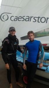 איילו לוין ודן פרויליך.מפרשיות 470