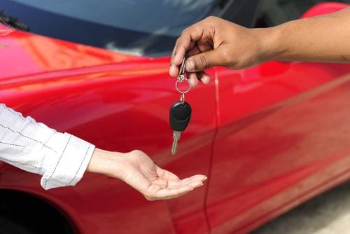מפתחות למכונית חדשה