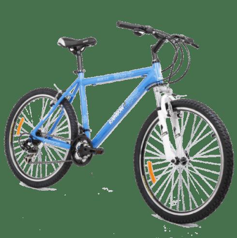 אופניים שלדה כחולה