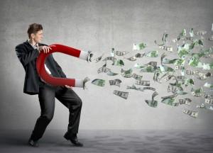 מגנט לכסף.מגנט ההצלחה