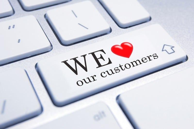 אוהבים את הלקוחות