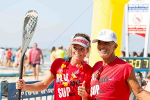 חותרים ונהנים. TLV OPEN SUP RACE 2015. צילום: ענבר ערמון